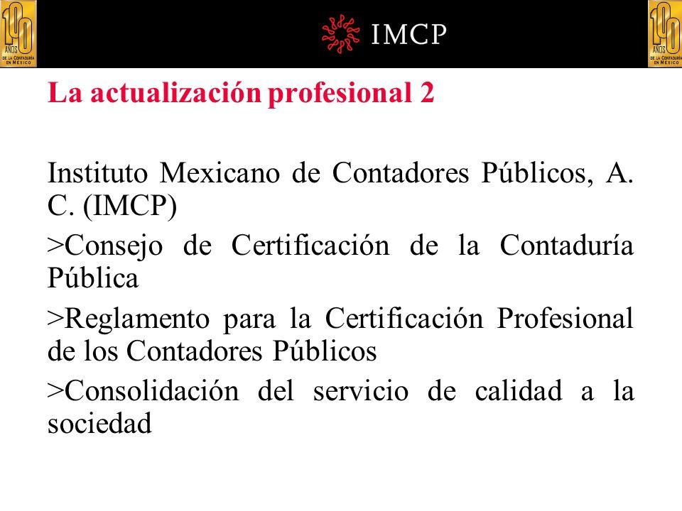 La actualización profesional 2