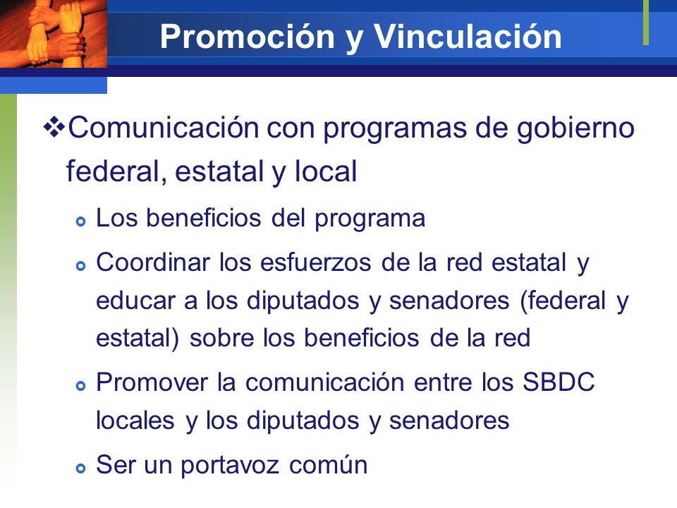 Promoción y Vinculación