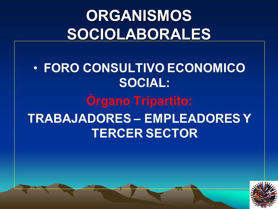 ORGANISMOS SOCIOLABORALES