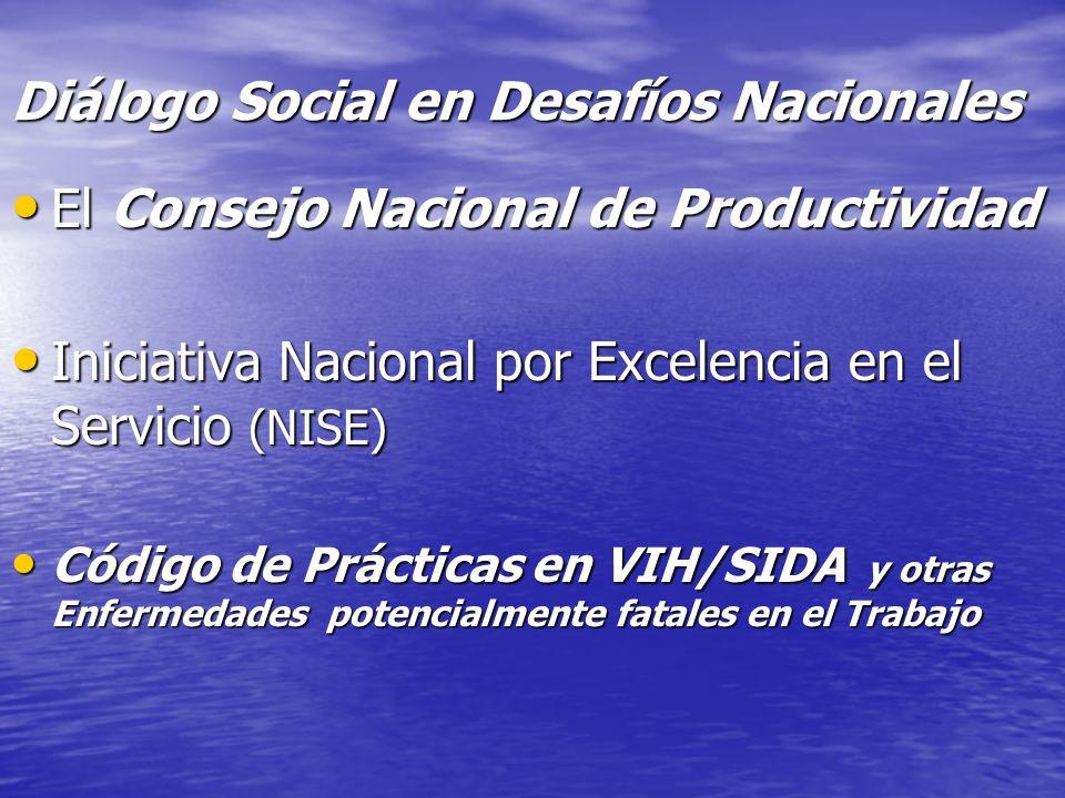 Diálogo Social en Desafíos Nacionales