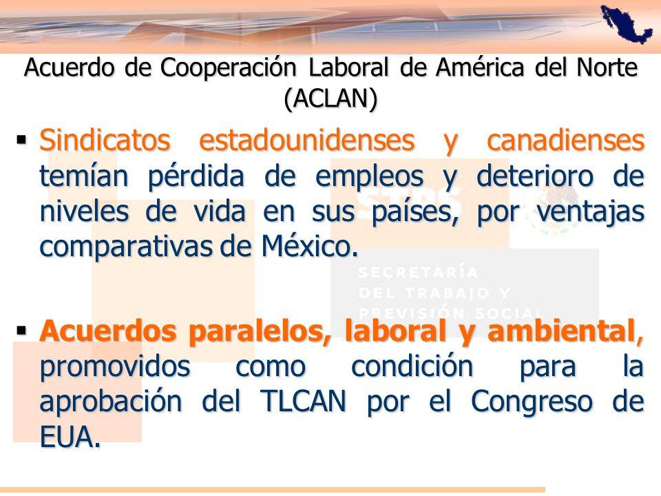 Acuerdo de Cooperación Laboral de América del Norte (ACLAN)