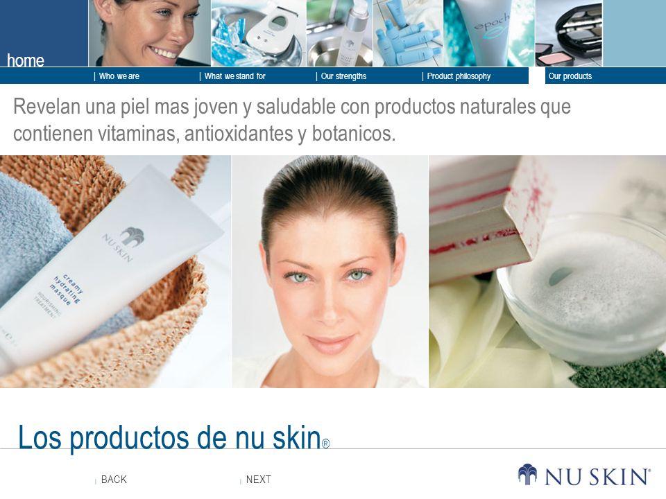Los productos de nu skin®