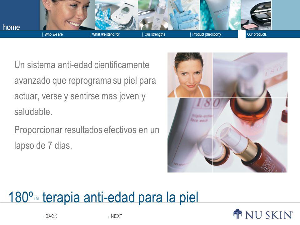 180º™ terapia anti-edad para la piel
