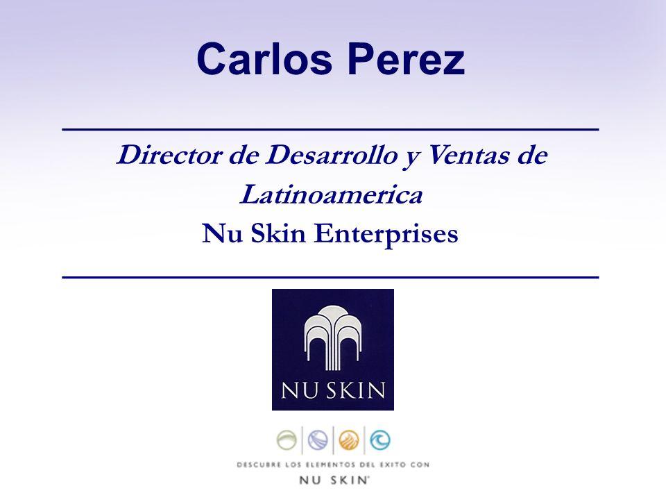 Carlos Perez Director de Desarrollo y Ventas de Latinoamerica