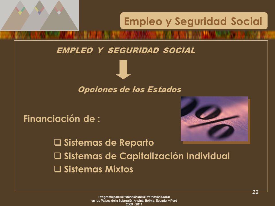Empleo y Seguridad Social