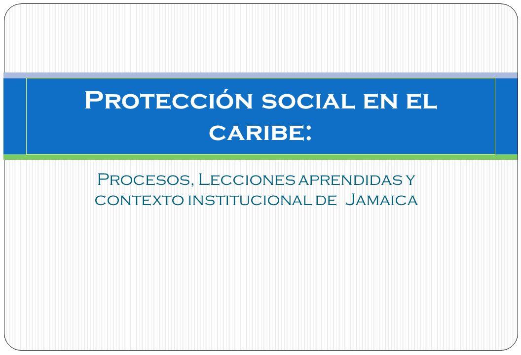 Protección social en el caribe:
