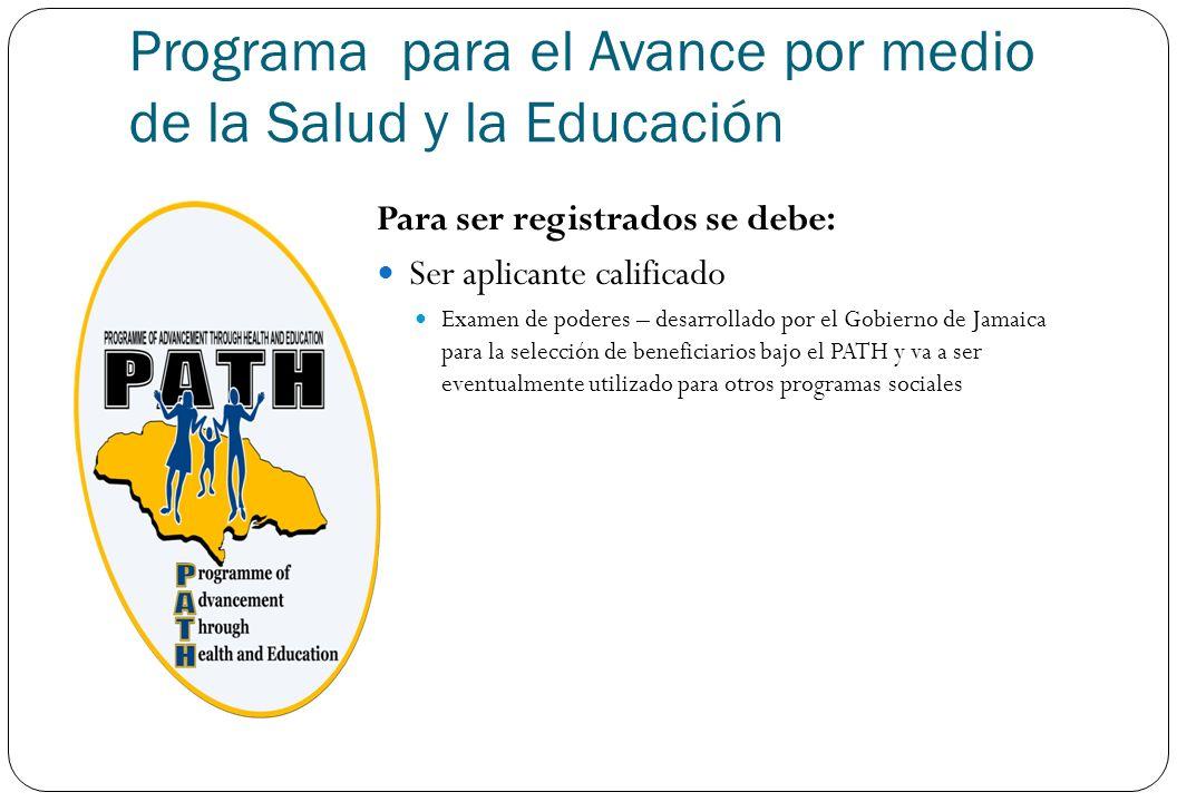 Programa para el Avance por medio de la Salud y la Educación