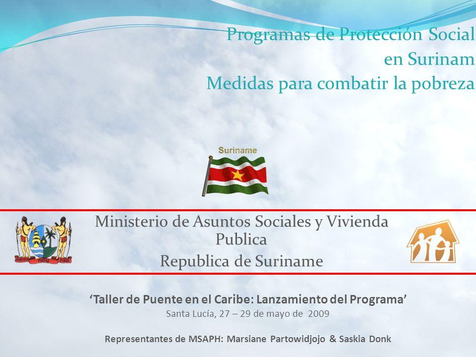 Programas de Protección Social en Surinam