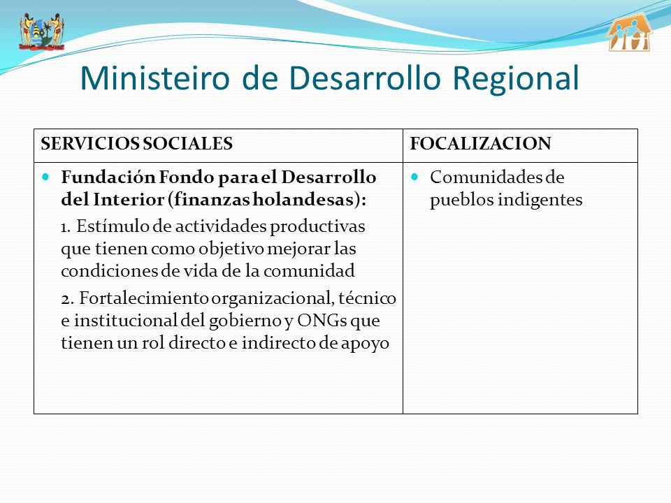 Ministeiro de Desarrollo Regional
