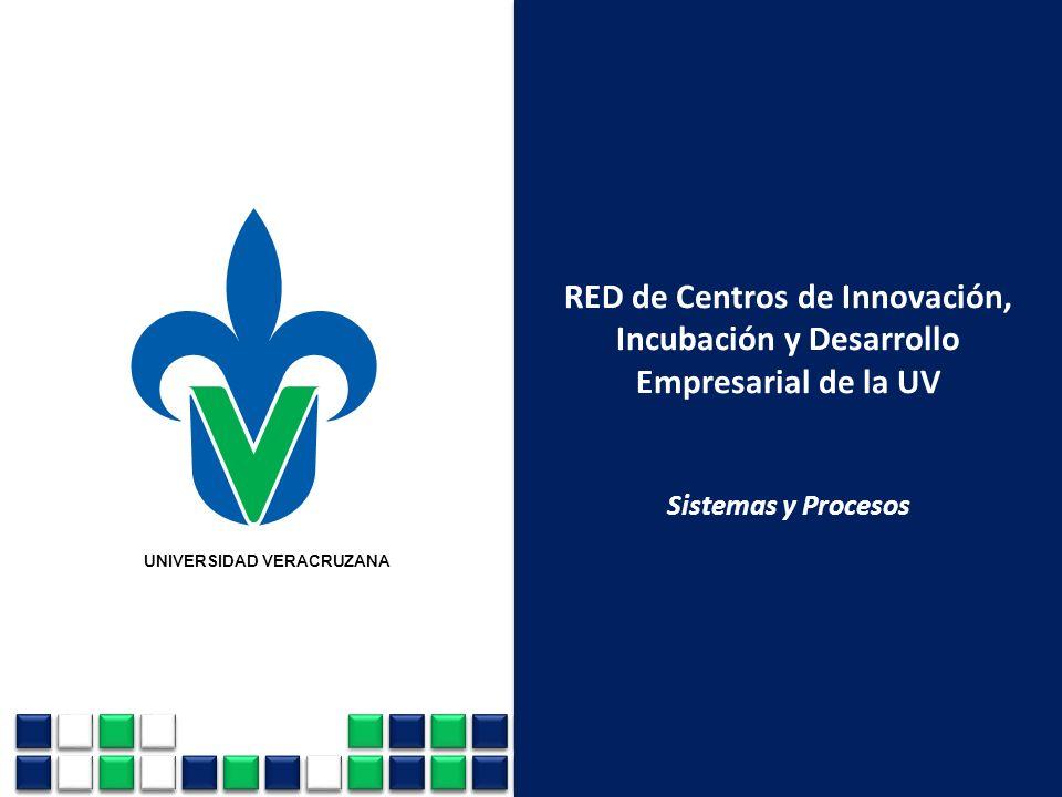 RED de Centros de Innovación, Incubación y Desarrollo Empresarial de la UV