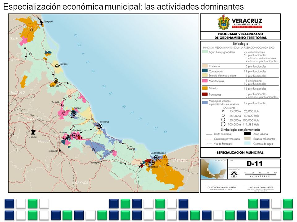 Especialización económica municipal: las actividades dominantes