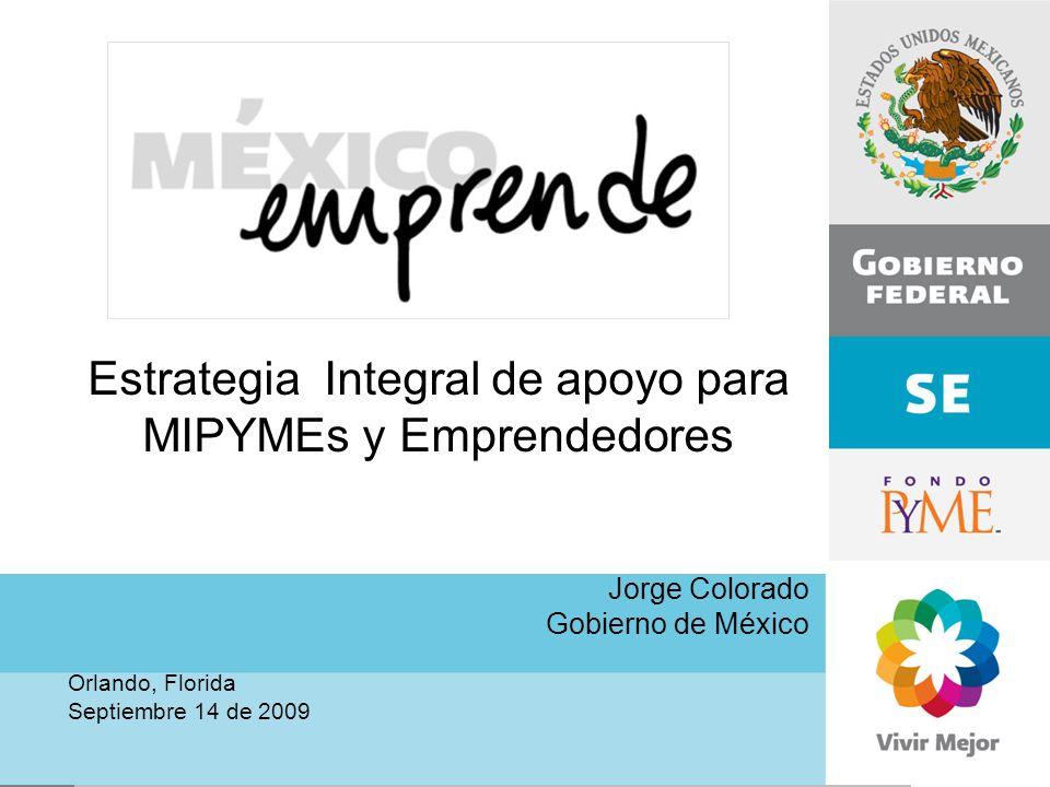 Estrategia Integral de apoyo para MIPYMEs y Emprendedores