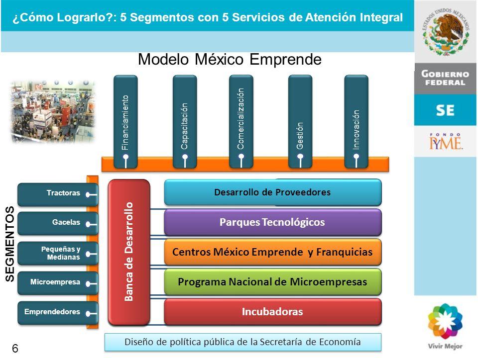      Modelo México Emprende