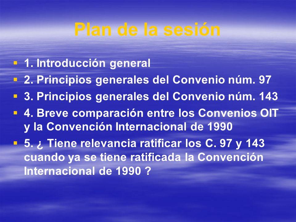 Plan de la sesión 1. Introducción general