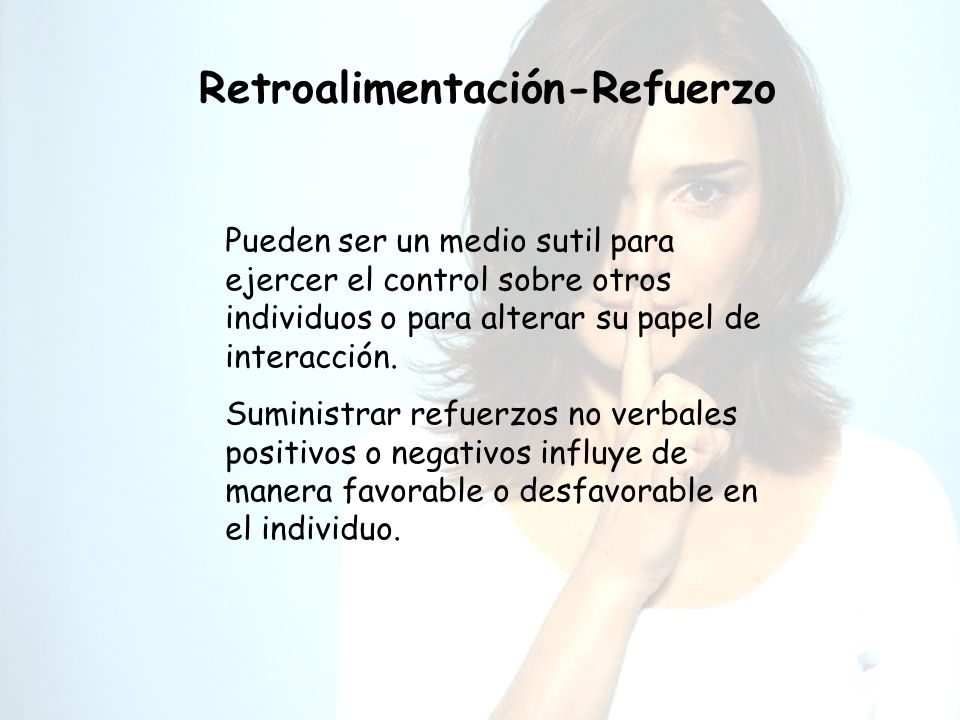 Retroalimentación-Refuerzo
