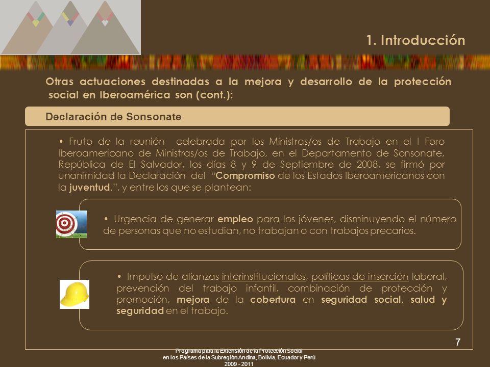 1. Introducción Declaración de Sonsonate