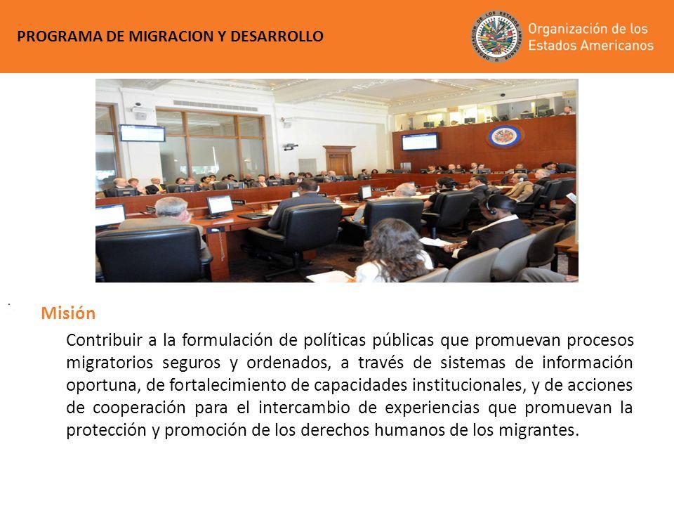 PROGRAMA DE MIGRACION Y DESARROLLO