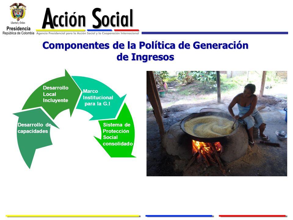 Componentes de la Política de Generación de Ingresos