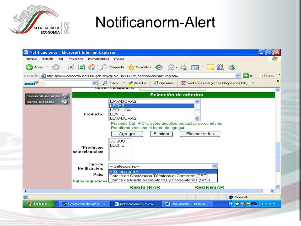 Notificanorm-Alert