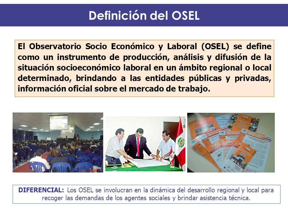 Definición del OSEL