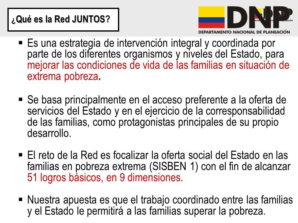 ¿Qué es la Red JUNTOS