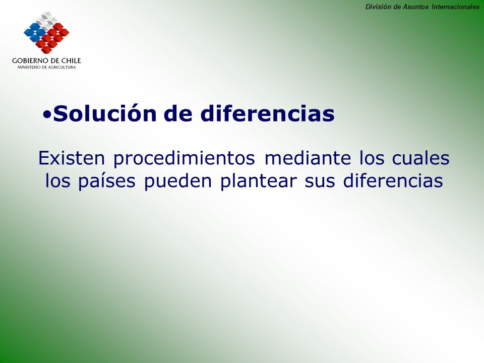 Solución de diferencias