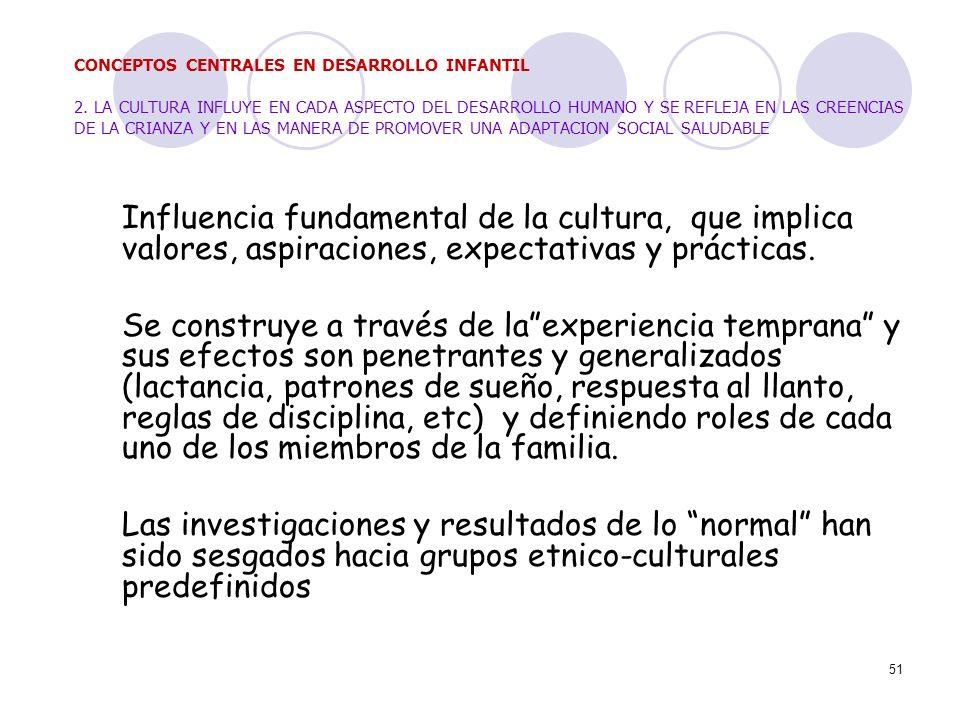 CONCEPTOS CENTRALES EN DESARROLLO INFANTIL 2
