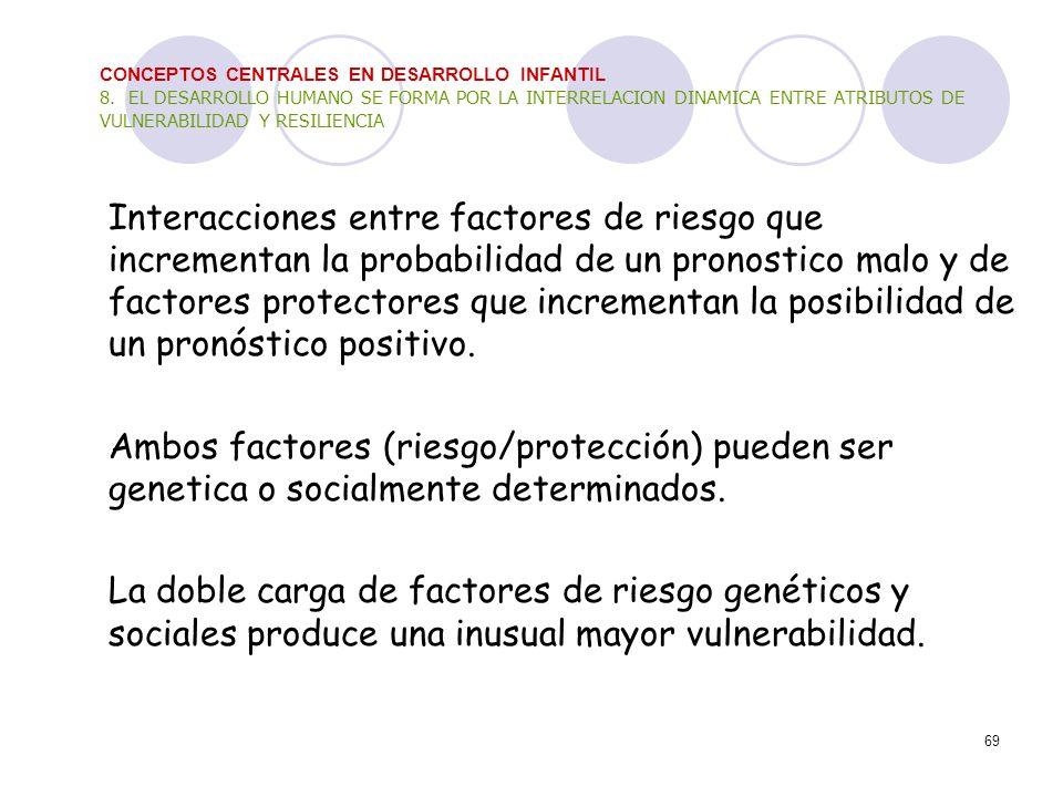 CONCEPTOS CENTRALES EN DESARROLLO INFANTIL 8