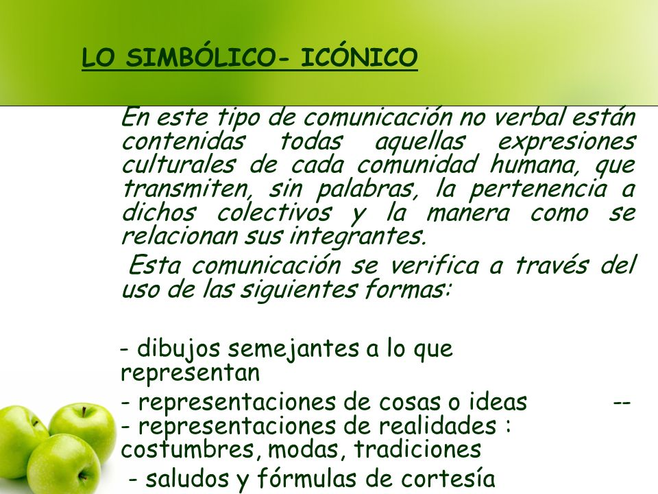 LO SIMBÓLICO- ICÓNICO
