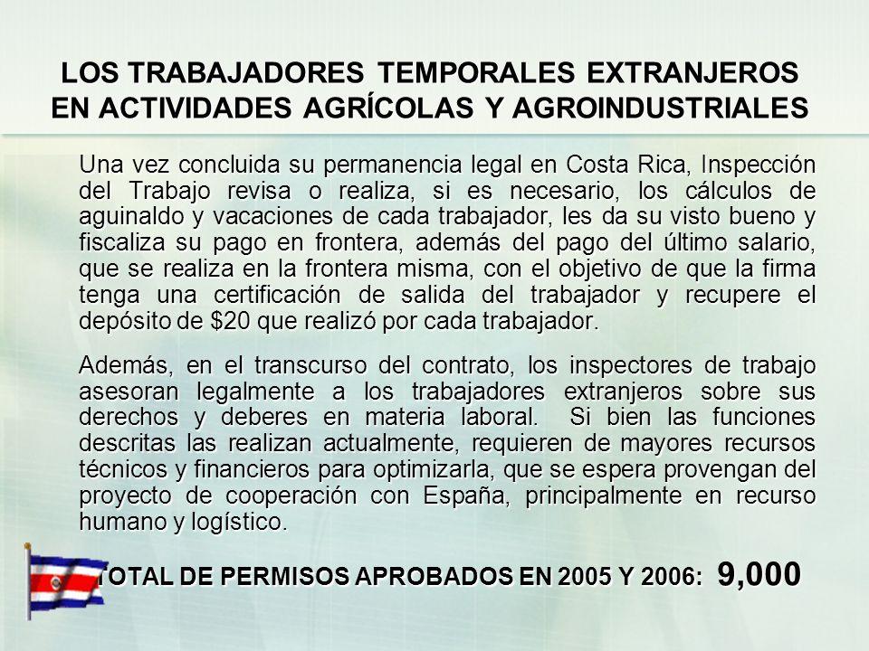 TOTAL DE PERMISOS APROBADOS EN 2005 Y 2006: 9,000