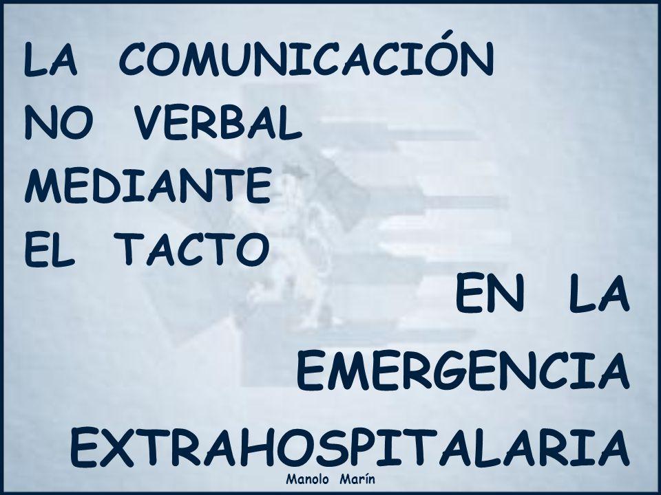 LA COMUNICACIÓN NO VERBAL MEDIANTE EL TACTO