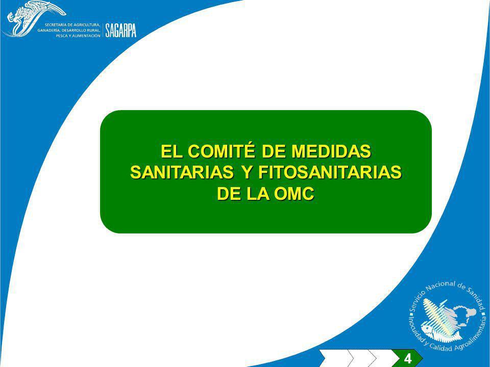 SANITARIAS Y FITOSANITARIAS