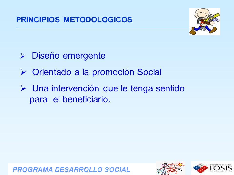 Orientado a la promoción Social