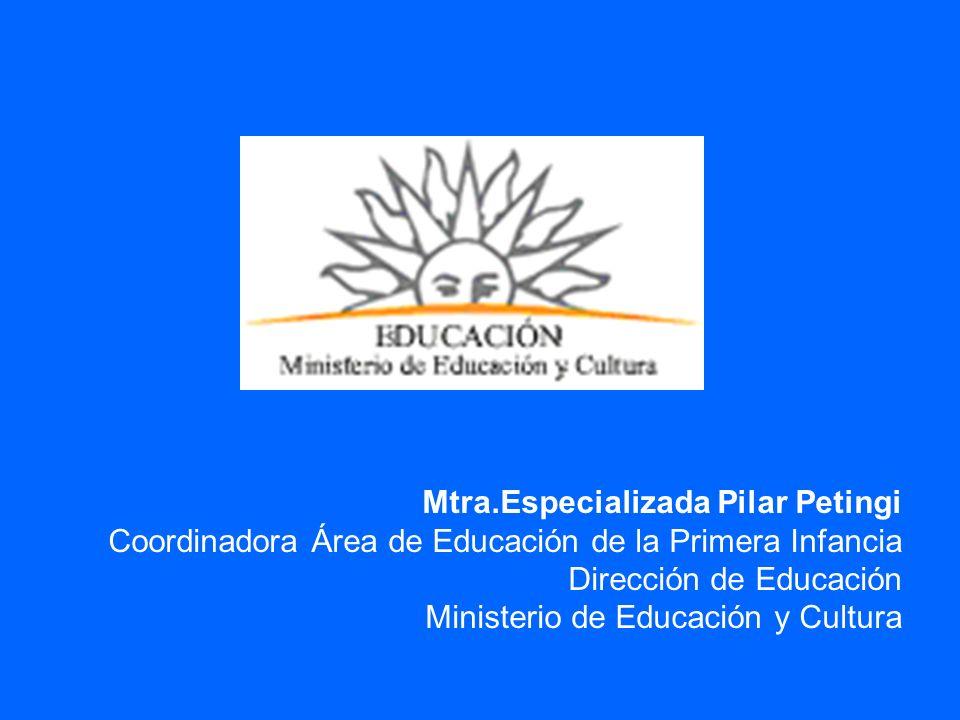 Mtra.Especializada Pilar Petingi