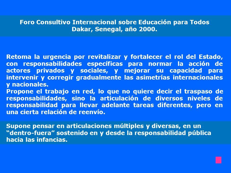 Foro Consultivo Internacional sobre Educación para Todos