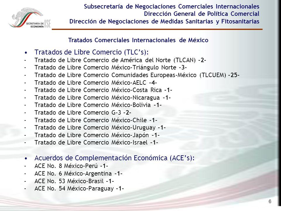 Tratados Comerciales Internacionales de México