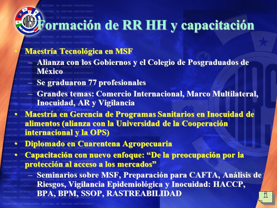 Formación de RR HH y capacitación