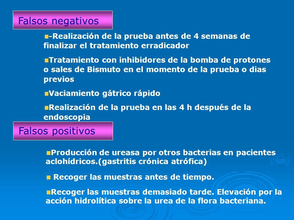 Falsos negativos Falsos positivos