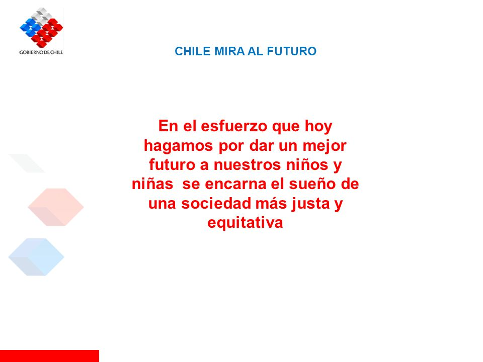 CHILE MIRA AL FUTURO