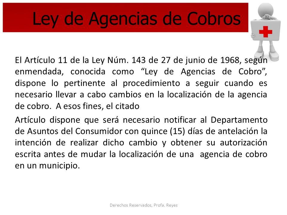 Ley de Agencias de Cobros