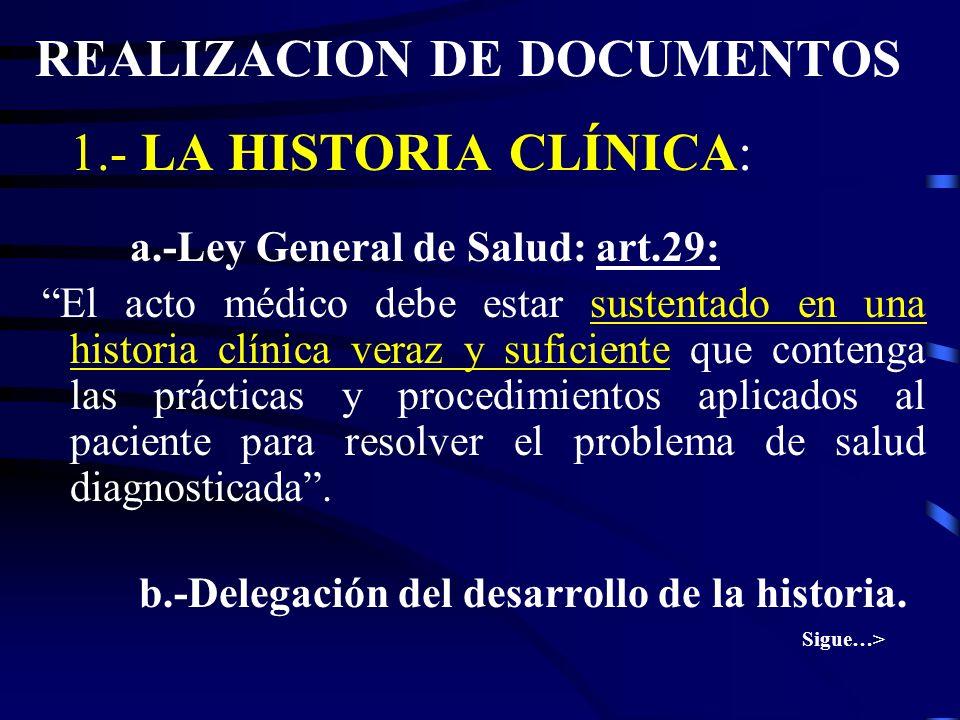 REALIZACION DE DOCUMENTOS