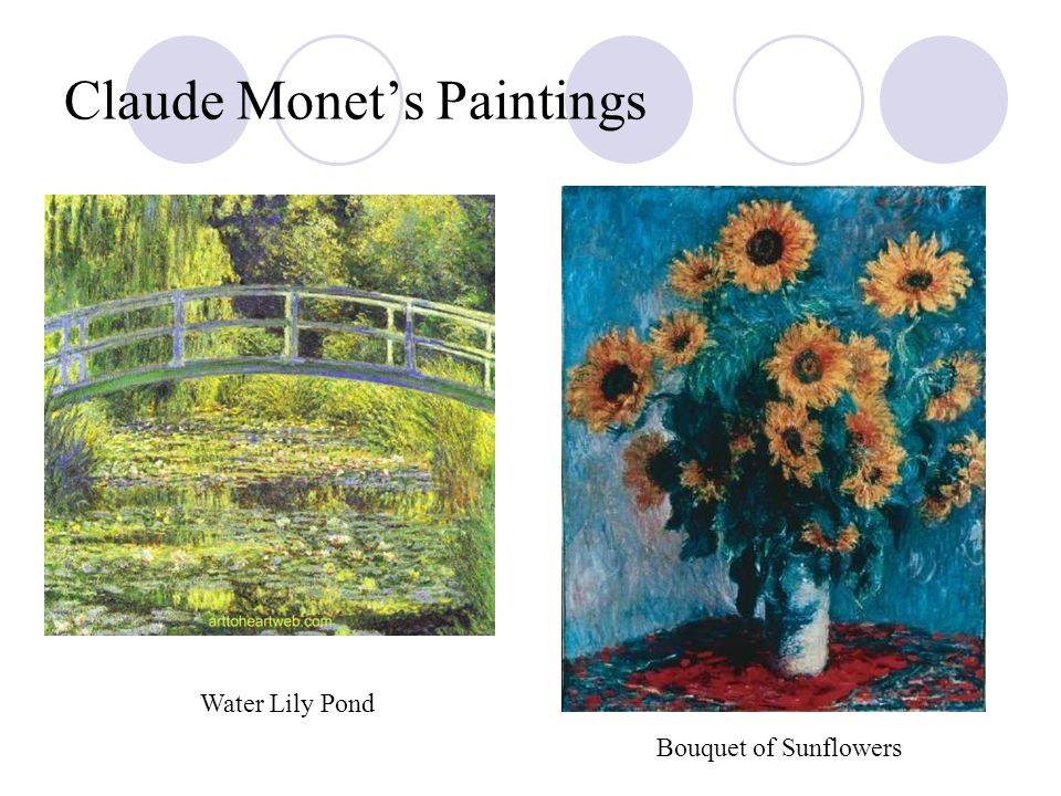 Claude Monet's Paintings