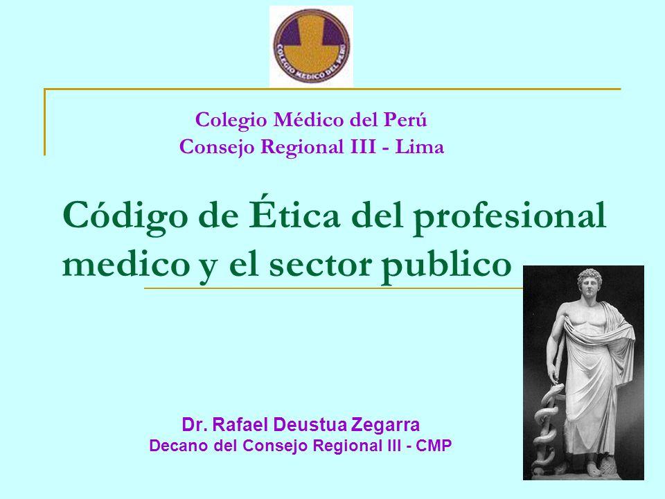 Colegio Médico del Perú Consejo Regional III - Lima