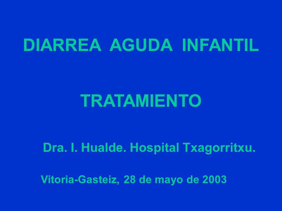 DIARREA AGUDA INFANTIL Vitoria-Gasteiz, 28 de mayo de 2003