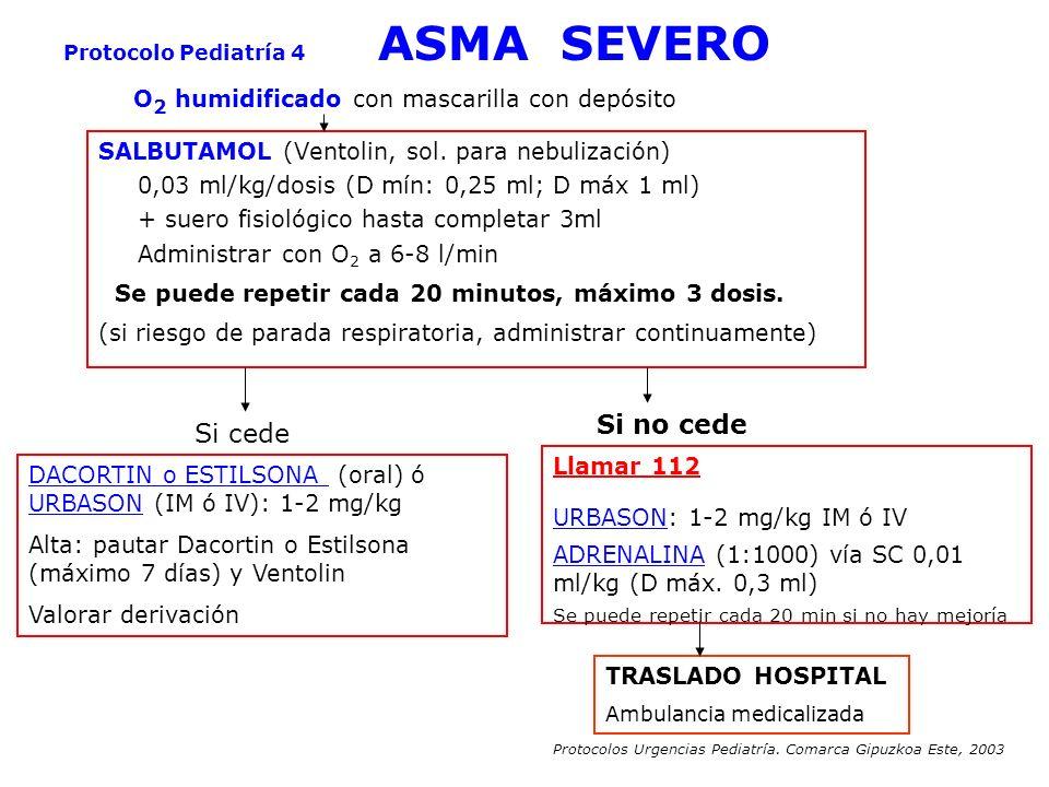 Protocolo Pediatría 4 ASMA SEVERO