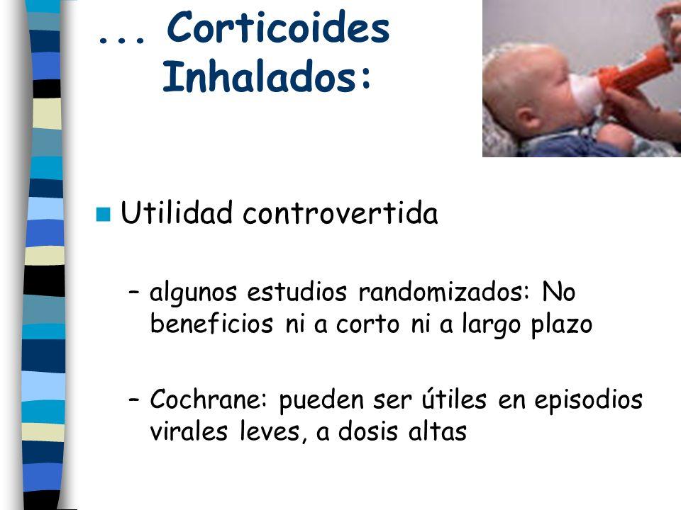 ... Corticoides Inhalados: