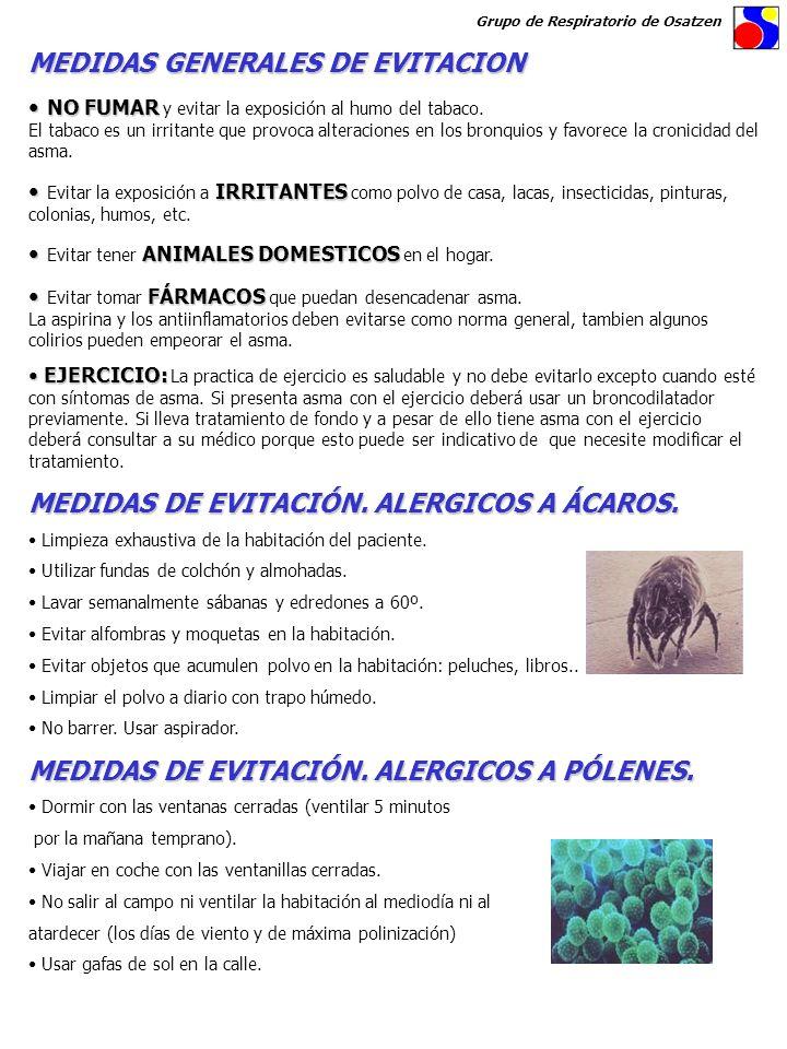 MEDIDAS GENERALES DE EVITACION