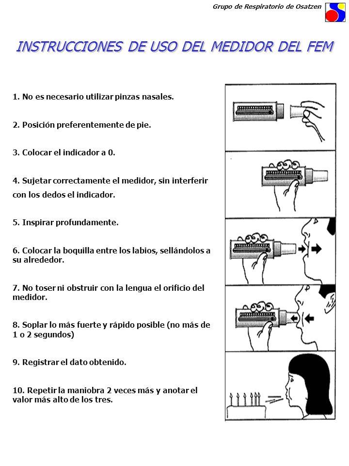 INSTRUCCIONES DE USO DEL MEDIDOR DEL FEM