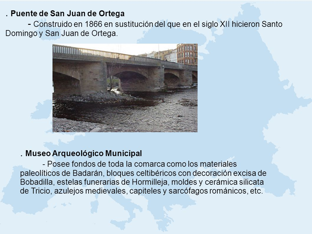 . Puente de San Juan de Ortega