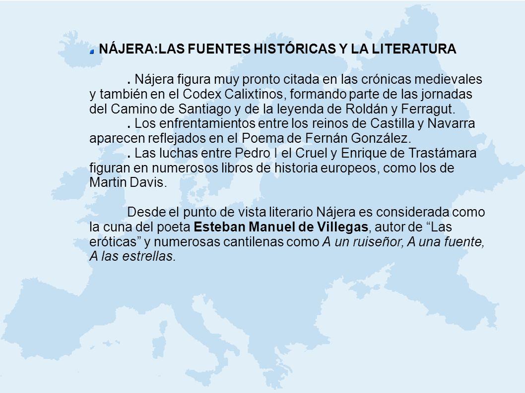 NÁJERA:LAS FUENTES HISTÓRICAS Y LA LITERATURA